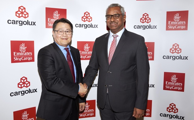Cargolux Richard Forson and Emirates Sky Cargo Nabil Sultan