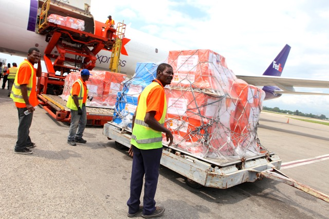 FedEx Hurricane Mathew Port au Prince