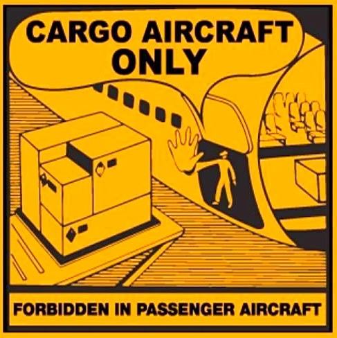 IATA dangerous goods label
