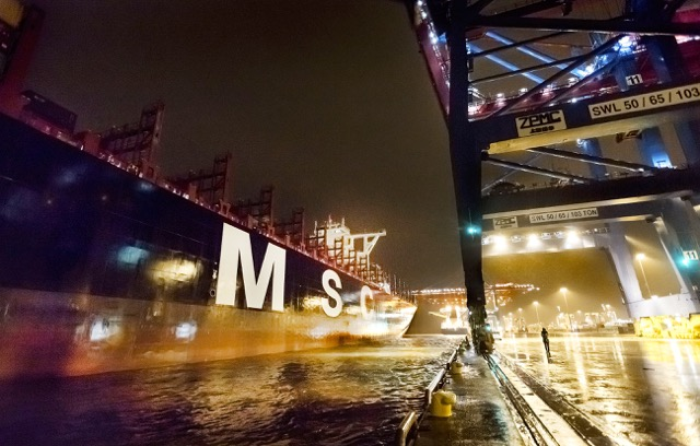 MSC MAYA  Gothenburg