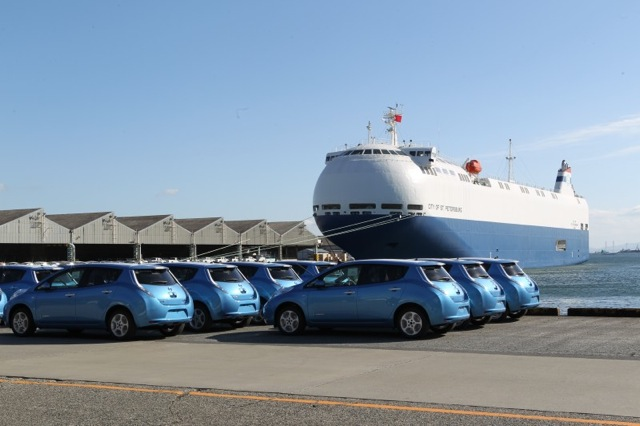 Nissan energy efficient car carrier