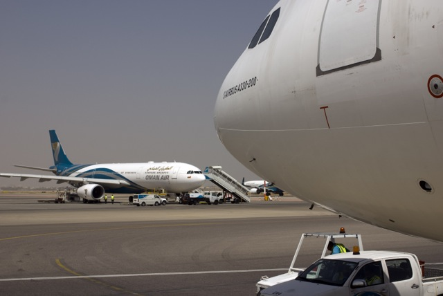 Oman Air at Muscat Airport