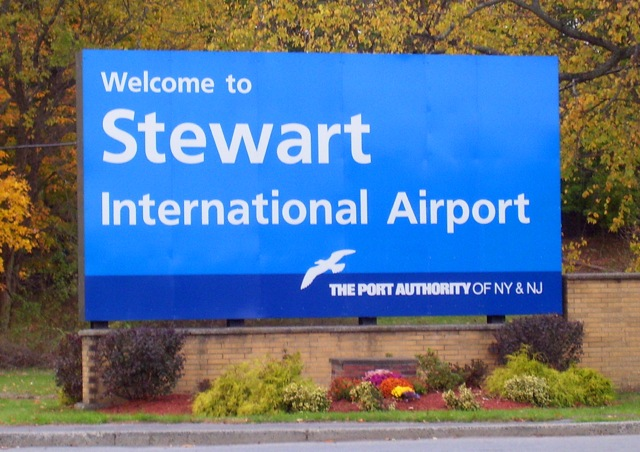 Port Authority Stewart Airport sign