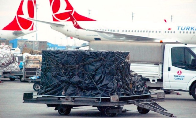 Turkish Cargo freight ULD