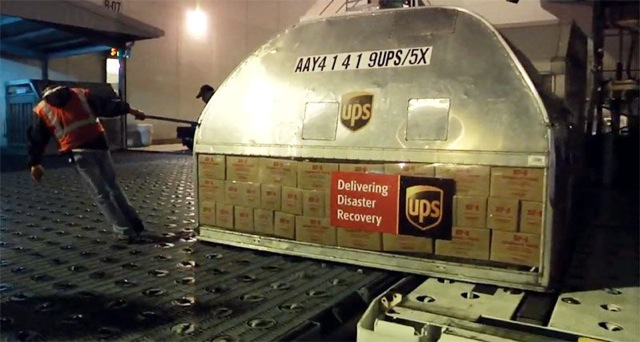 UPS delivering disaster recovery