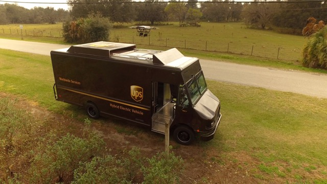 UPS drone testing in rural Florida