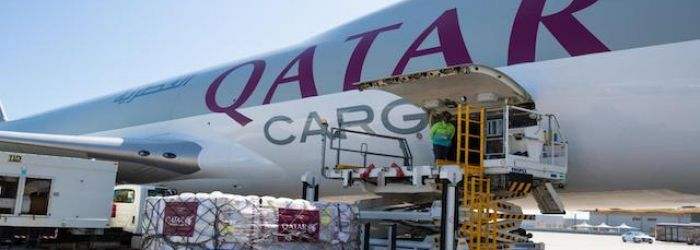 Qatar commits to transporting humanitarian aid free of charge