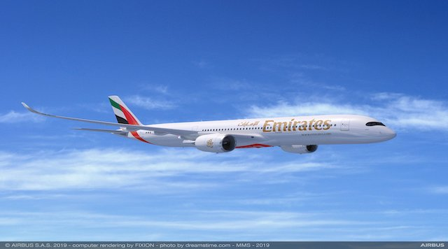 A350 900 Emirates Airline