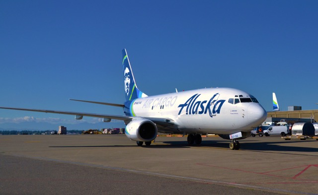Alaska Airlines freighter conversion