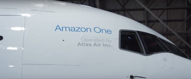 Amazon One by Atlas air