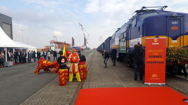 Amsterdam Container Terminal Silk Road launch