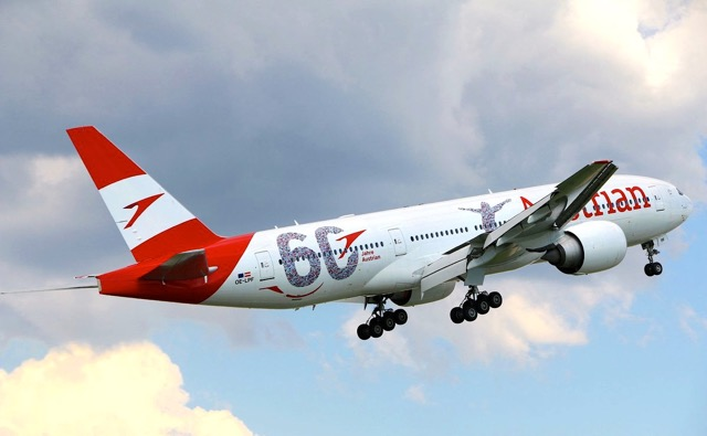 Austrian latest B777