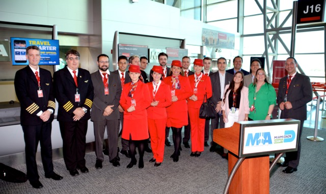 Avianca Brasil flight crew