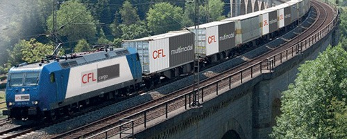CFL rail-container-train