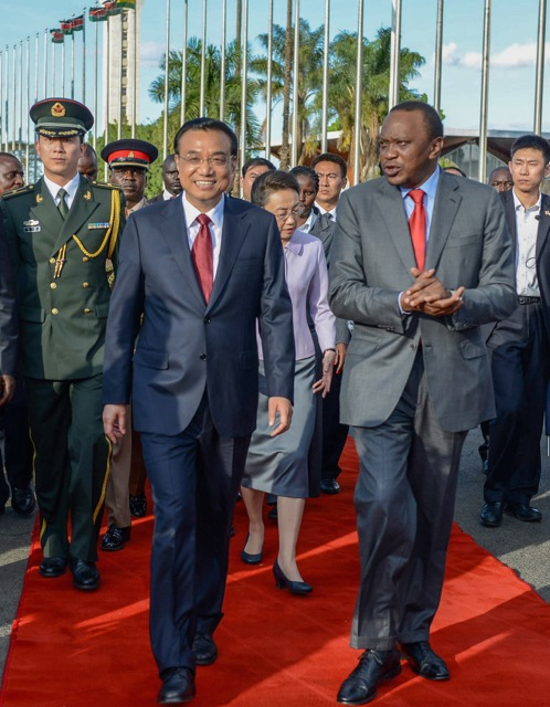 China and Kenya leaders