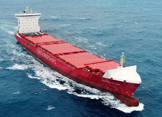 Containerships first LNG containership Nord