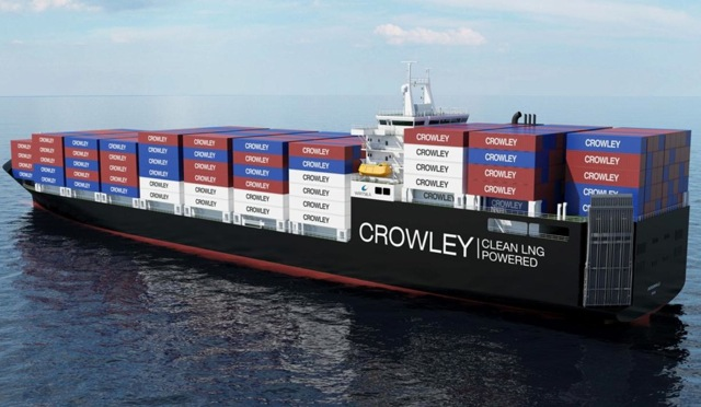 Crowley-to-Build-Revolutionary-LNG-Powered-ConRo-Ships
