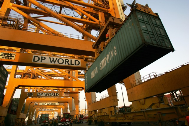 DP world container