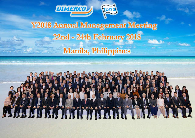 Dimerco Annual Management Meeting in Manila