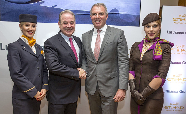 Etihad and Lufthansa agreement