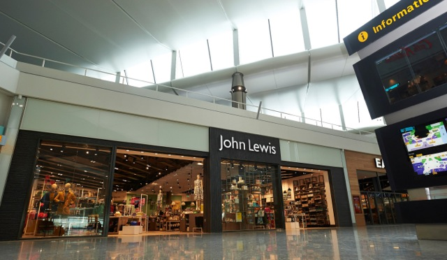 John lewis store at airport