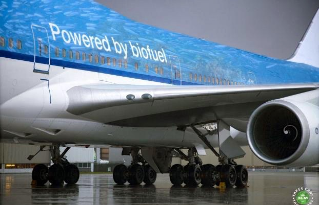 KLM powered by biofuel