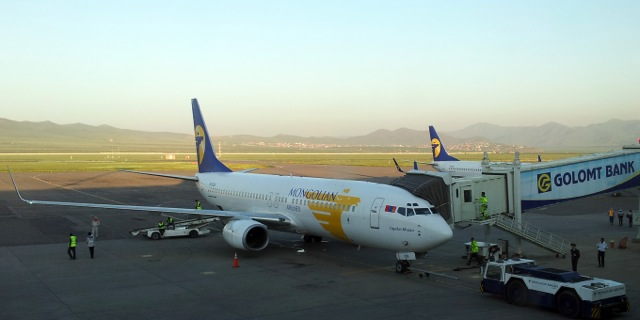 MIAT Boeing 737-800 at ULN