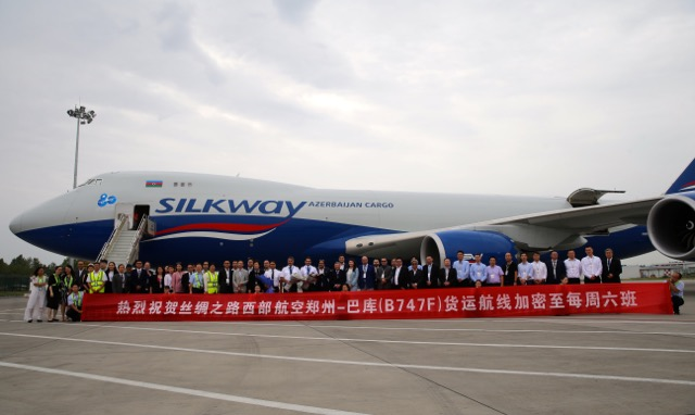 More flights by Silkway to Zhengzhou