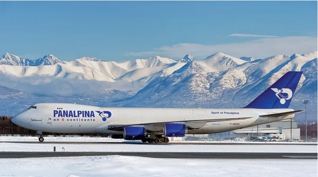Panalpina 747 8 Anchorage