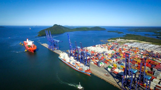 Paranagua Container Terminal TCP in Brazil