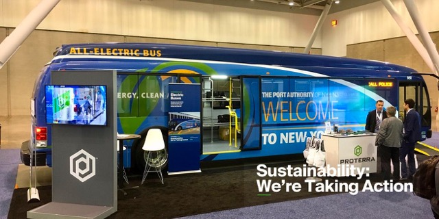 Port Authority of NY NJ electric buses