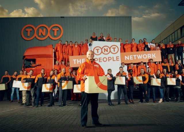 TNT CEO and employees