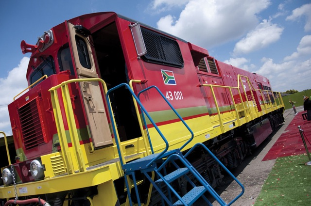 Transnet locomotive