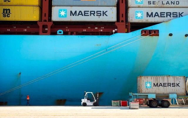 maersk dangerous goods